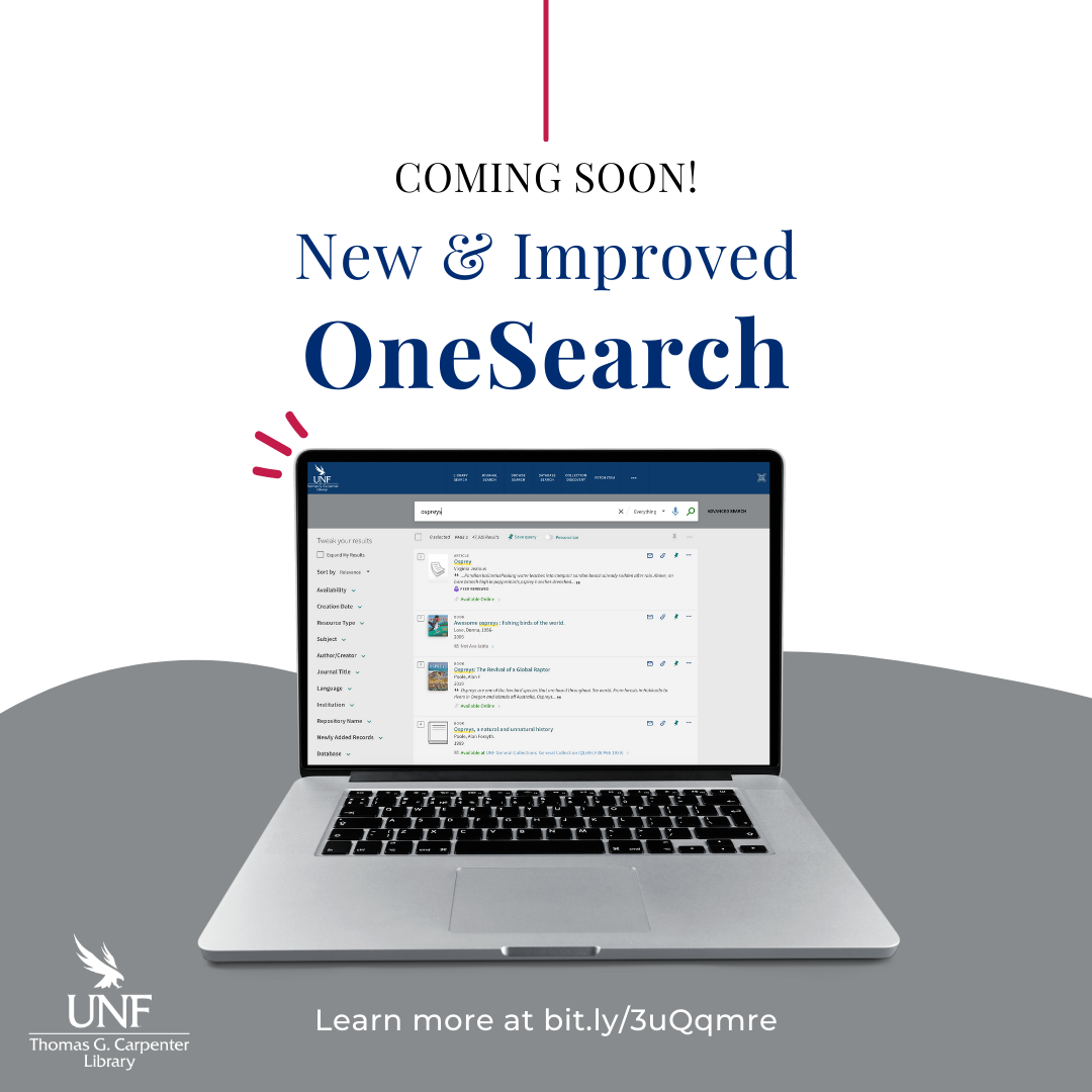 Coming Soon New and Improved OneSearch