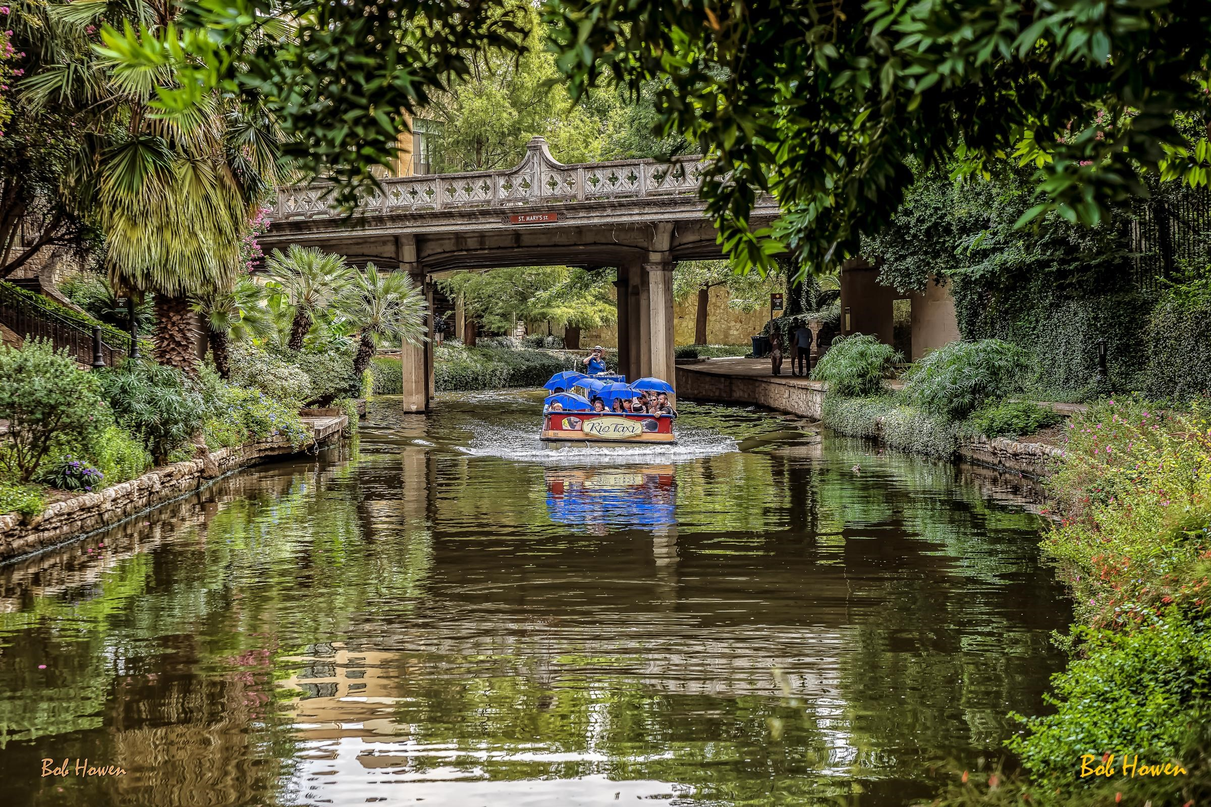 River Walk boat