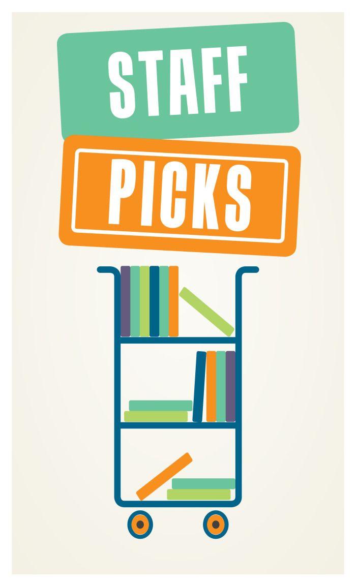 Staff Picks bookcart
