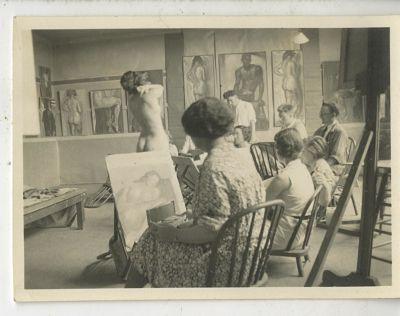 Wilshire Campus class 1930s