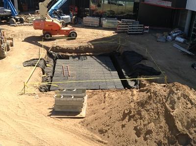 Construction Westchester campus expansion 2014-16