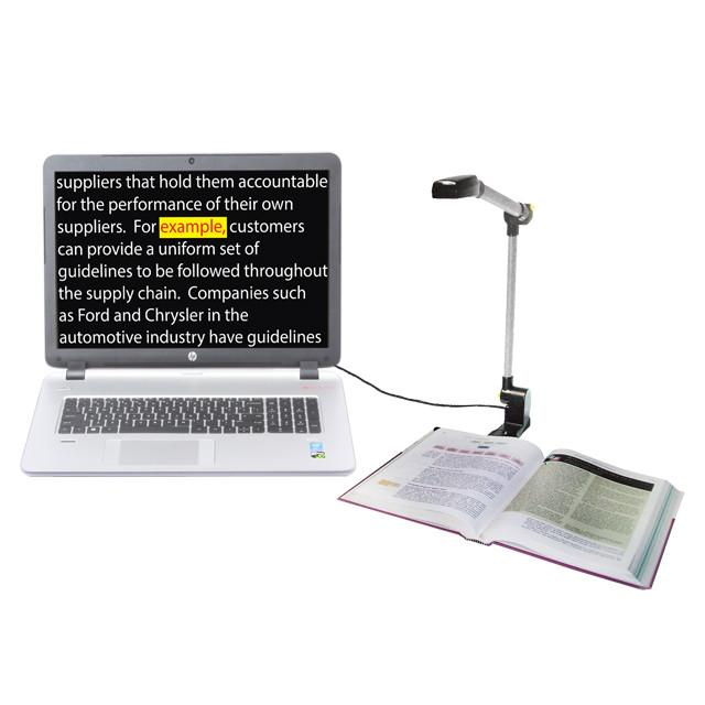 Freedom Scientific Pearl text reader with computer interface