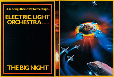 Electric Light Orchestra, The Big Night tour poster