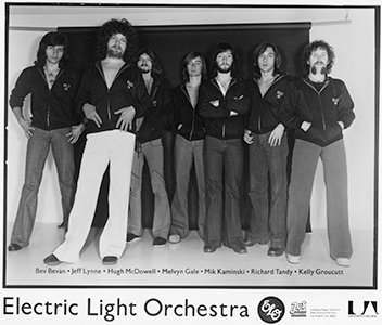Electric Light Orchestra band promo photograph