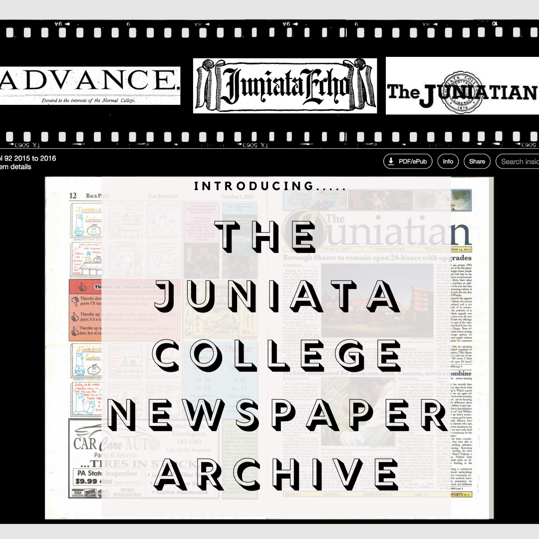 The Juniata College Newspaper Archive