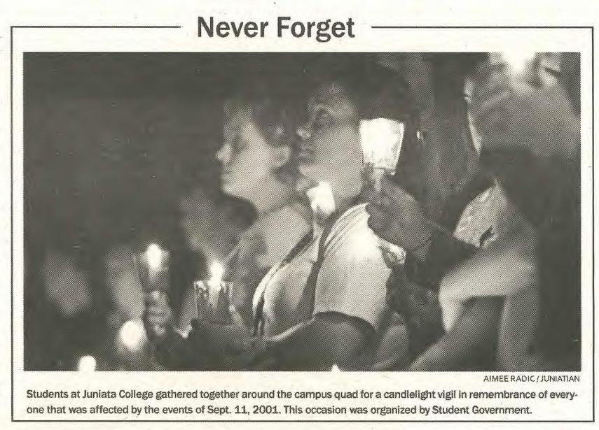 Never Forget - Candle Light Vigil Photo