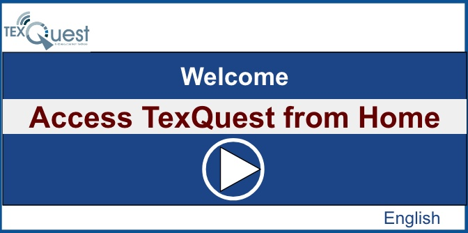Welcome TexQuest Video English icon