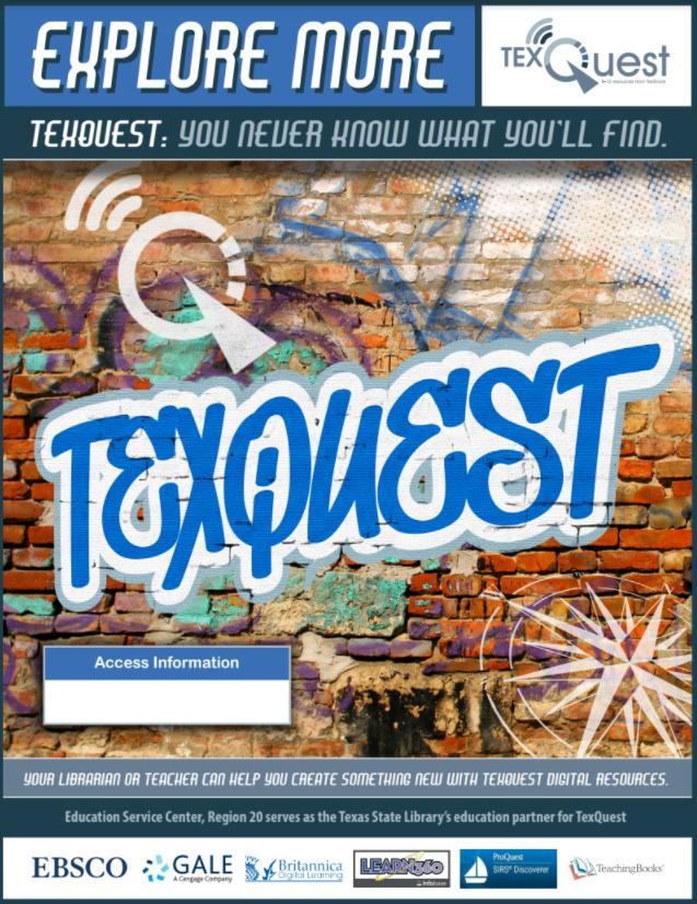 TexQuest Graffiti Flyer