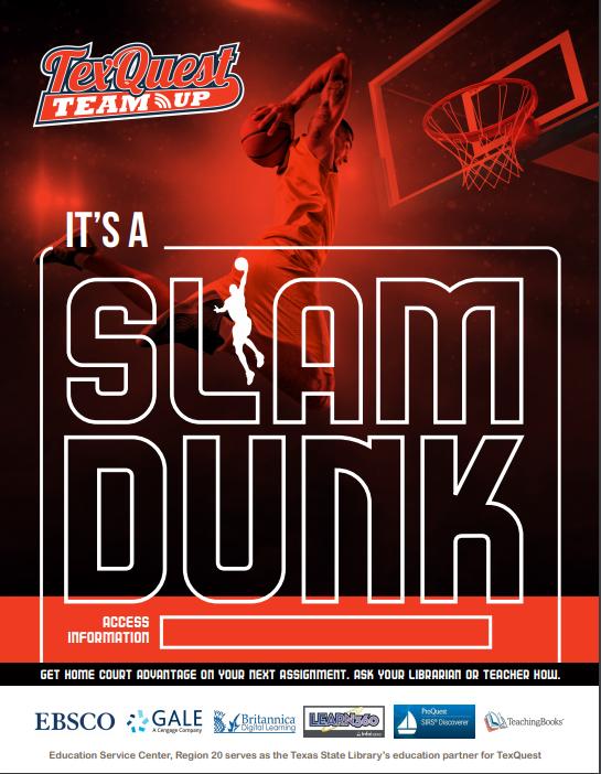 TexQuest Basketball Flyer