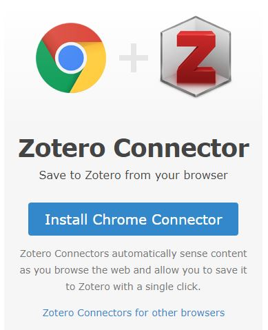 Dowlnoad Zotero Connector for your preferred Browser