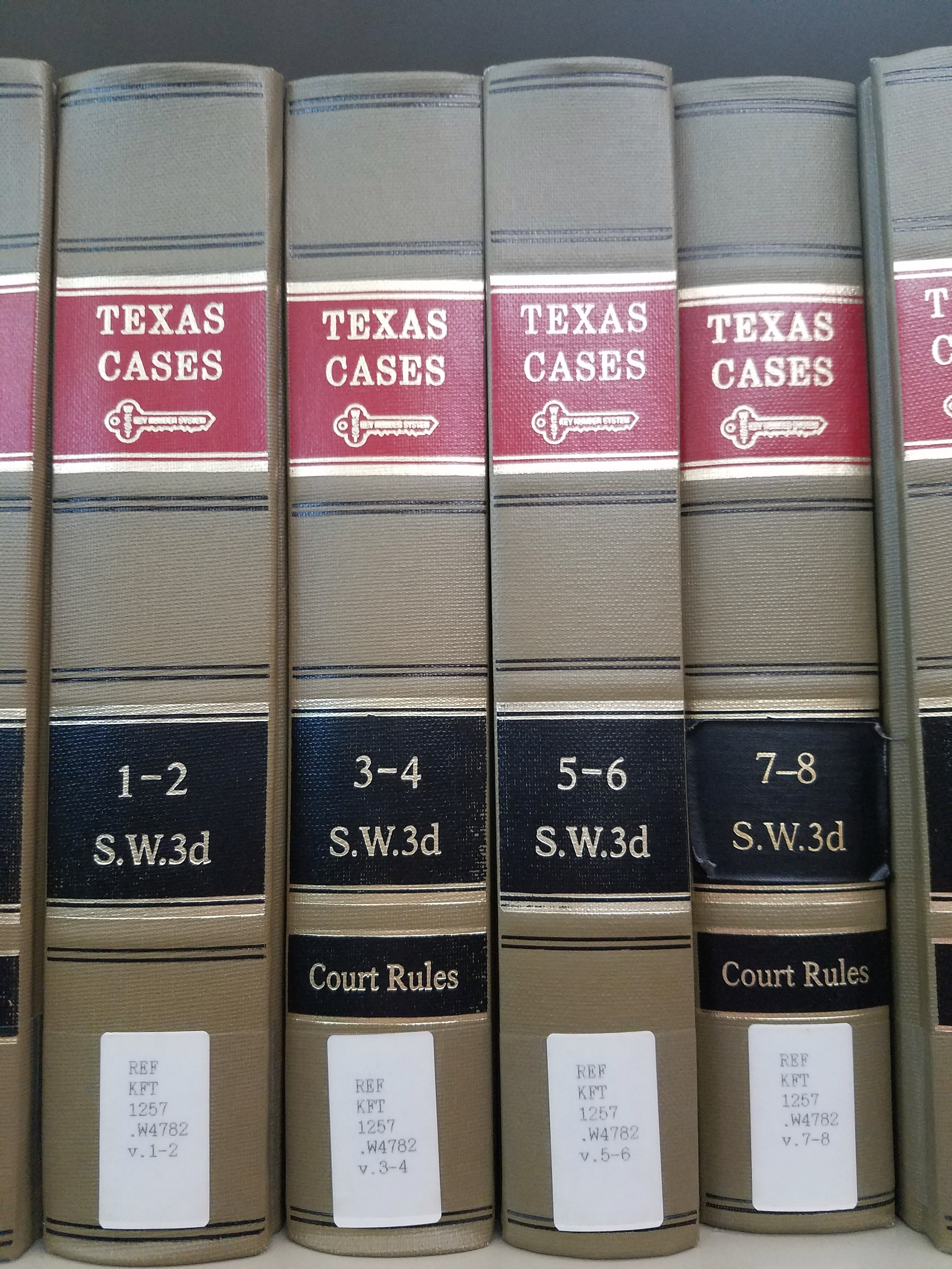 South Western Reporter: Texas Cases, 3d