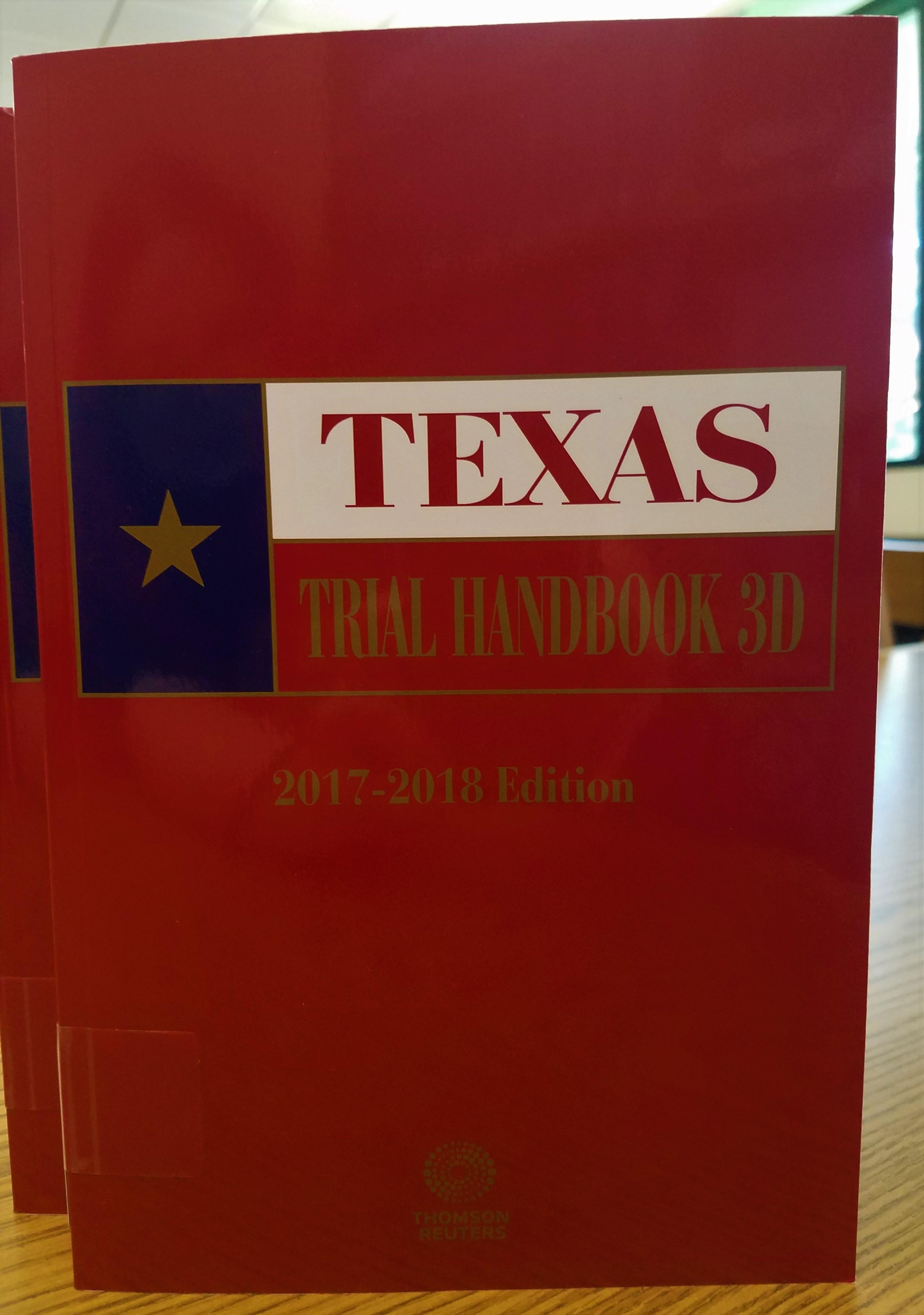 Texas Trial Handbook