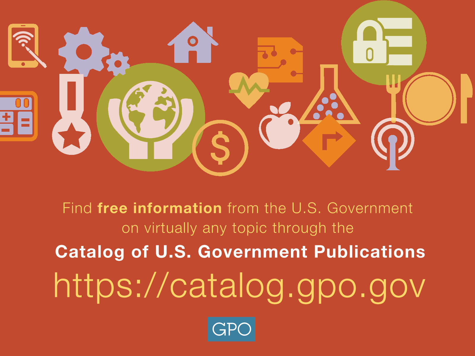 Catalog of Government Publications