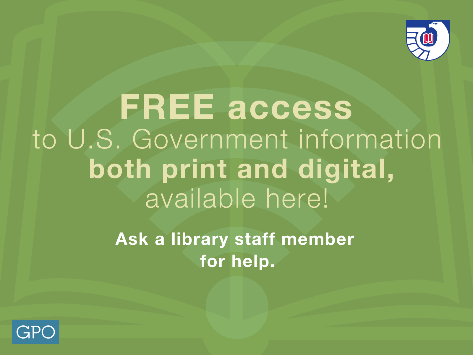 Access to free government information in the Library