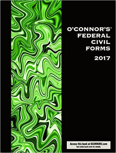 O'Connor's Federal Civil Forms