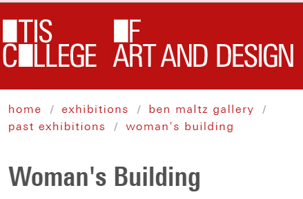 Otis College: Woman's Building