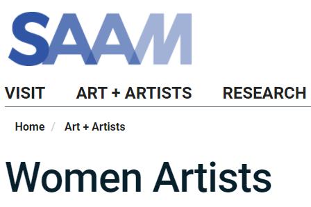 SAAM: Women Artists