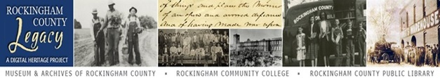 Rockingham County Digital Heritage Project Banner