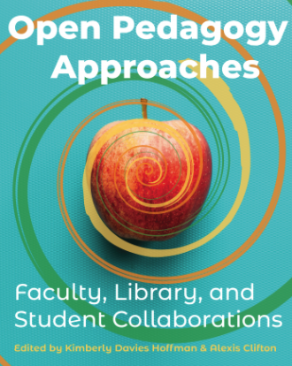 Book cover for Open Pedagogy Approaches