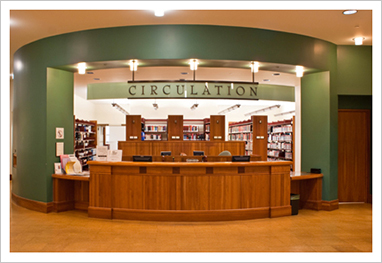 Law Library Circulation Desk