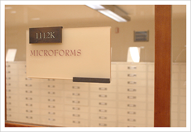 Law Library Microform Room