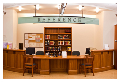 Law Library Reference Desk