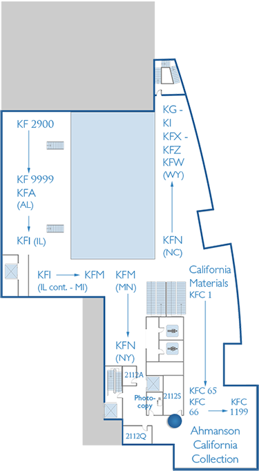 2nd Floor Map Conference Rooms