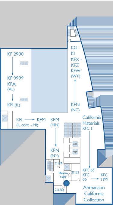 2nd Floor Map Copy Room