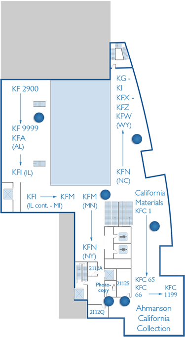 2nd Floor Home Page Map