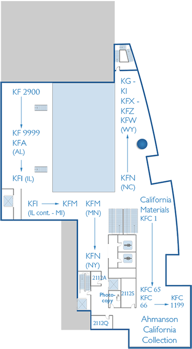 2nd Floor Map Latin American Legal Materials