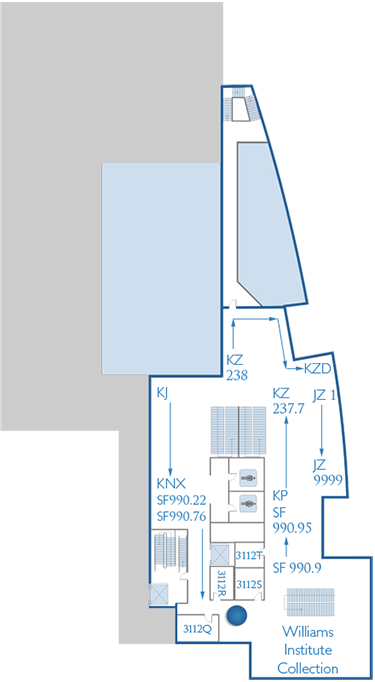 Third Floor Conference Rooms Map