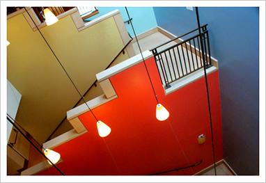 Third Floor Main Stairwell