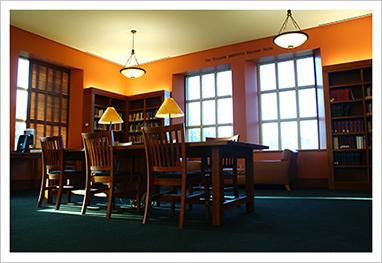 Third Floor Williams Institute Reading Room