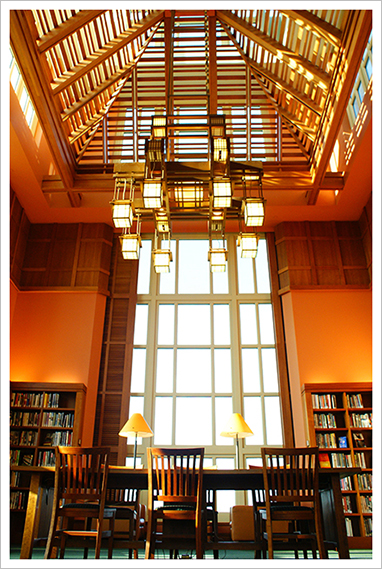 Fourth Floor Tower Reading Room