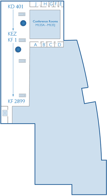 Mezzanine Level Home Page Map