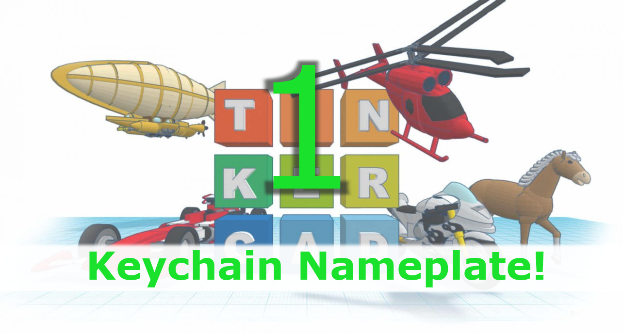 """3D Printing """"Key Chain 2019"""""""