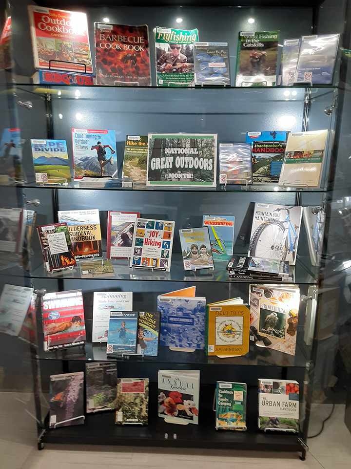 Great Outdoors Library Display