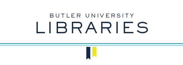Butler University Libraries Banner