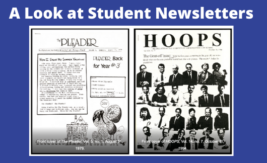 Hoops & Pleader_Student Newsletters