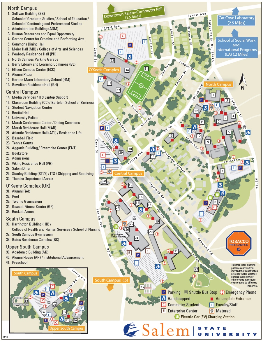 SSU Campus Map