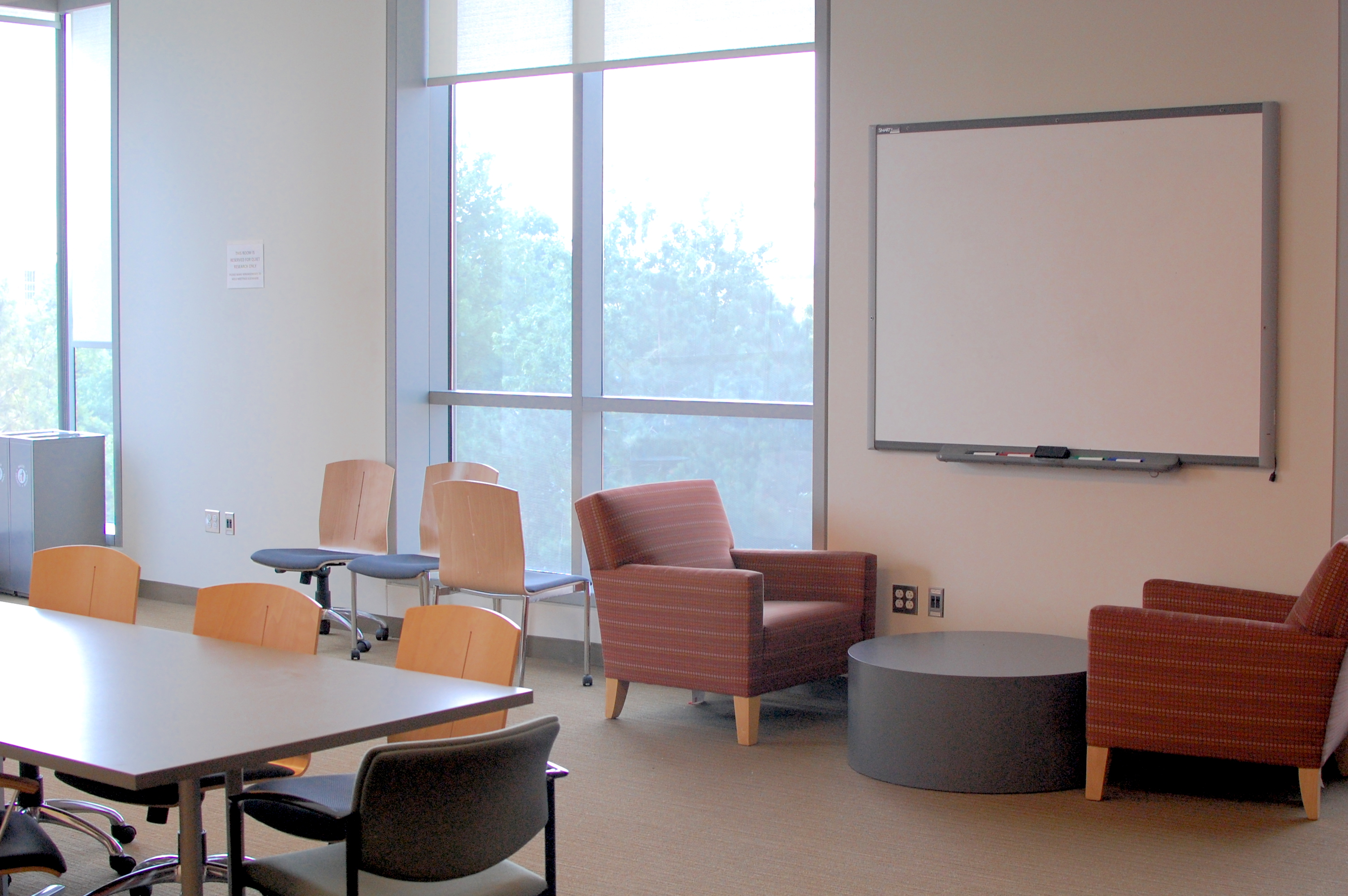 faculty research reading room