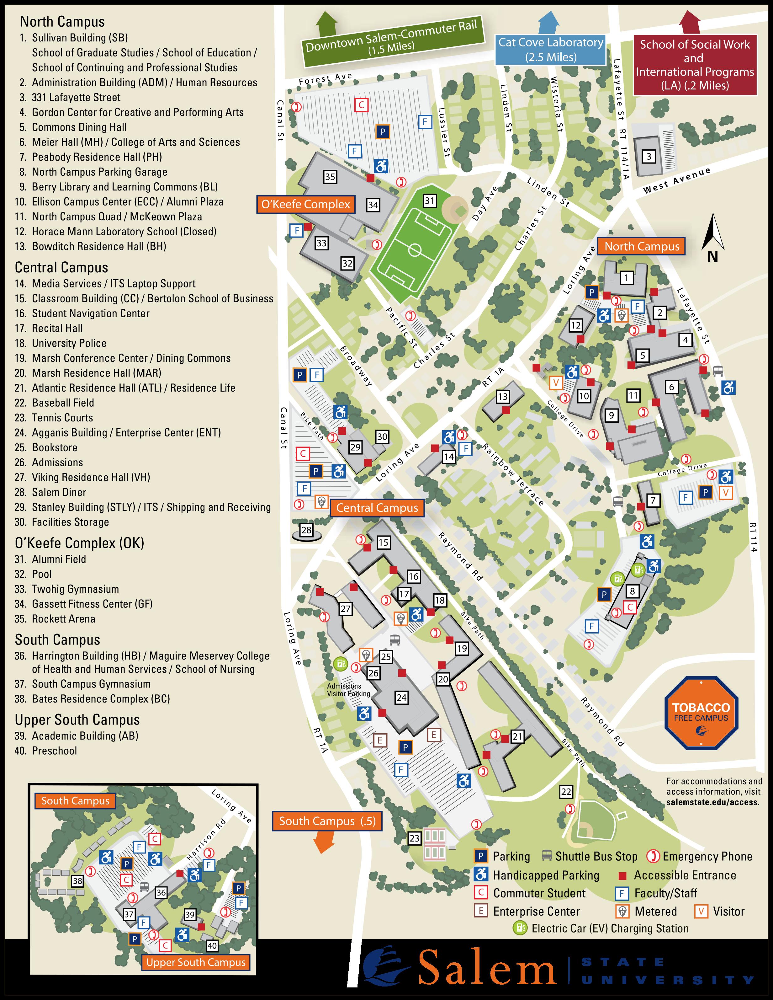 ssu campus map 2021
