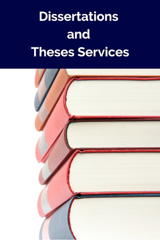 Dissertations and Theses Services