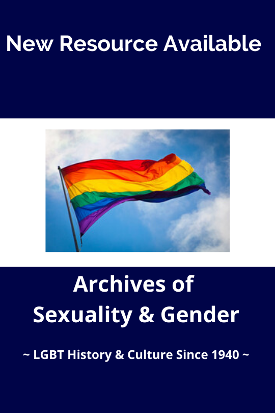 Archives of Sexuality and Gender