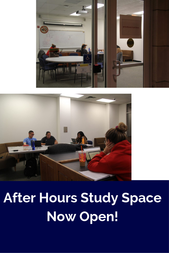 After Hours Study Room