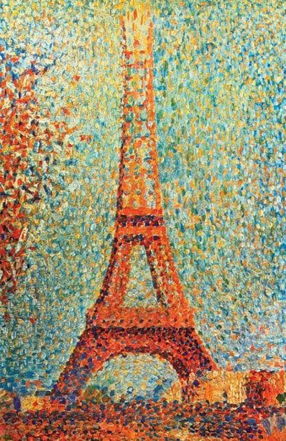 Pointillism or Drip Painting