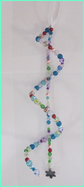 Create a Beaded Spiral Ornament
