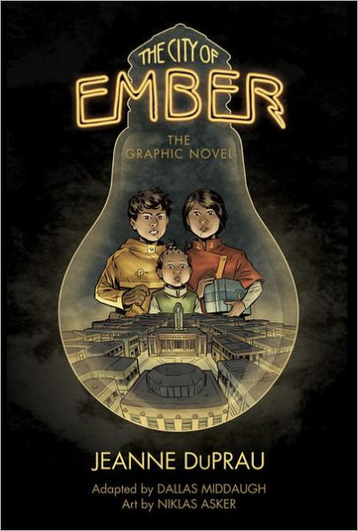 Tween & Teen Book Club - This months book is, The City Of Ember The Graphic Novel