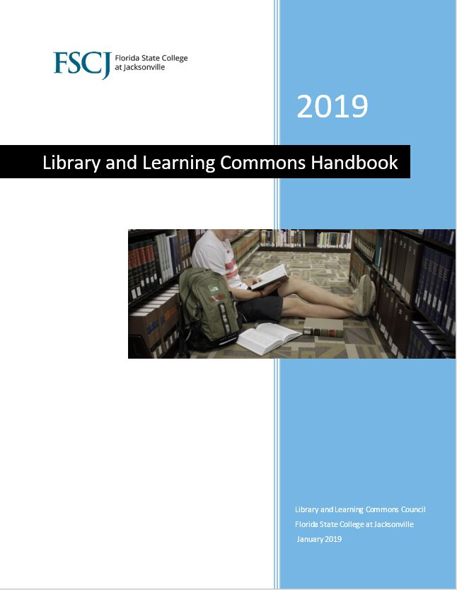 Library and Learning Commons Handbook Cover