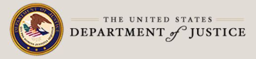 image of Department of Justice logo